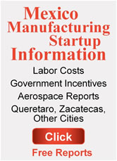 Mexico Manufacturing Startup Information